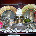 Antique Beveled Boxes and Tins