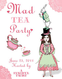 Mad Tea Party 2011 Blog Button