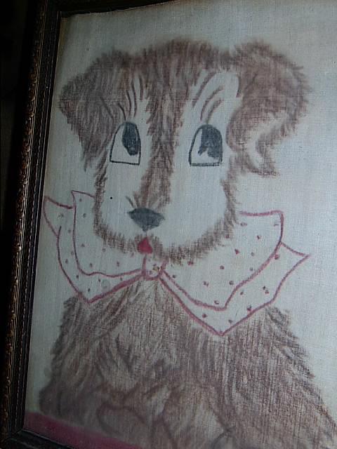 Vintage Sweet Puppy
